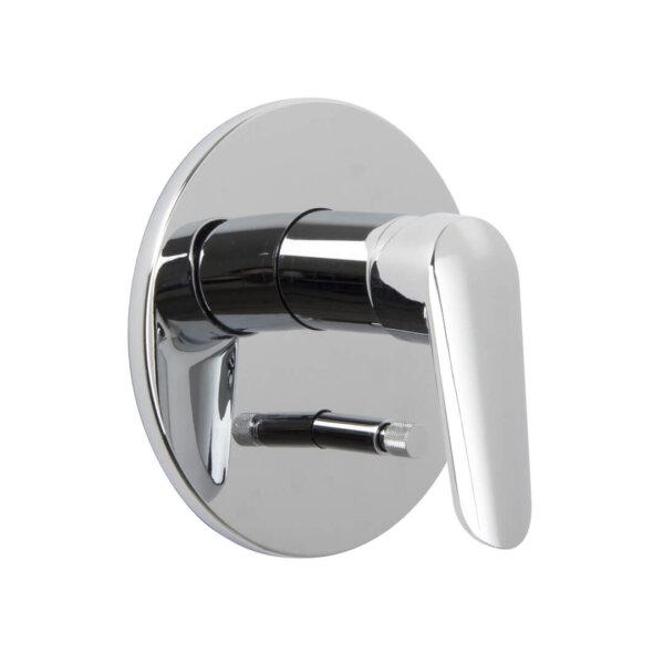 Fima Spot 2-väljundiga seinasisene dušisegisti, viimistlus kroom