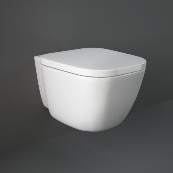 Seinapealne wc pott ONE RIMLESS 52 (prill-lauaga) RAK