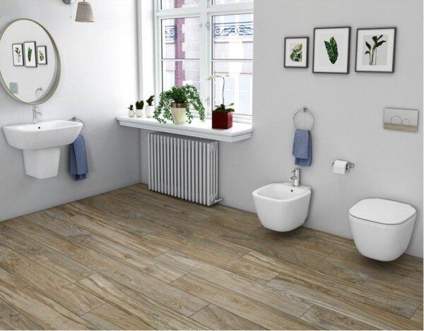 Seinapealne wc pott ONE 52 (prill-lauaga) RAK