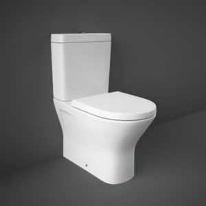 Monoliitne wc pott RESORT RIMLESS 60 (prill-lauaga) Rak