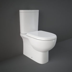 RAK monoliitsetel TONIQUE 62,5 (prill-lauaga) wc pottide glasuur sisaldab hõbeioone