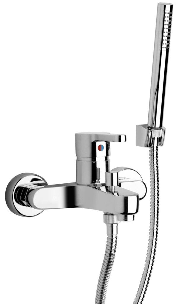 Duši- ja vannisegisti ARENA koos käsidušiga, kroom, Paini