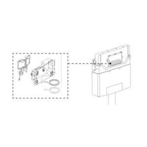 Pneumaatiline ühenduskomplekt OLI120 PLUS seinaraamile, OLI