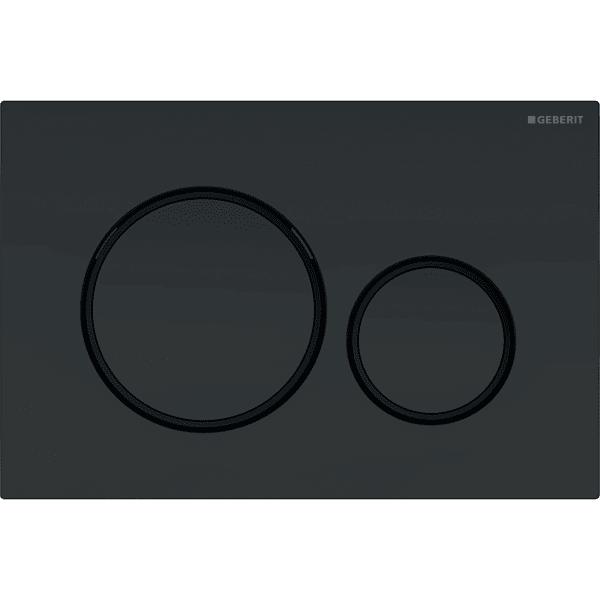 Loputusplaat Sigma20 Easy-to-Clean, must matt, Geberit