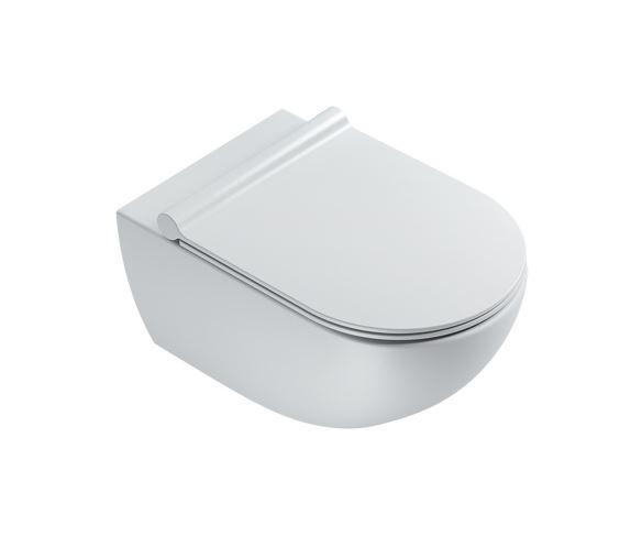 Seinapealne wc pott SFERA NF 54, satiinmatt valge, Catalano