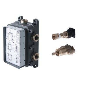 Встраиваемая  часть термостатического смесителя для душа на 2-3 выхода SMART BOX SLIM, Noken