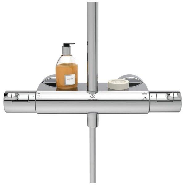 Dušikomplekt termostaadiga CERATHERM T50, kroom, Ideal Standard