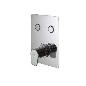 Dušikomplekt termostaadiga TOUCH & FEEL OVAL, kroom, Noken