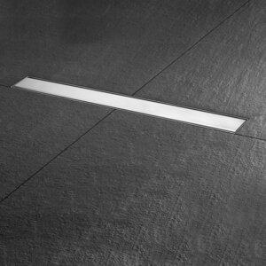 Duširenni komplekt Basic Drain Zero/Tile, pikkus 800mm, roostevaba/plaaditav, EASY DRAIN