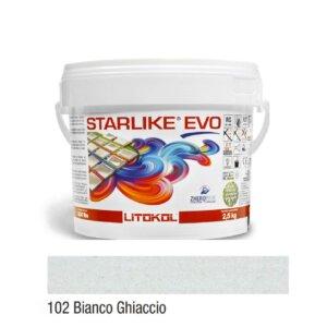 Epoksiid vuugitäide 2,5kg STARLIKE EVO 102 Bianco Ghiaccio