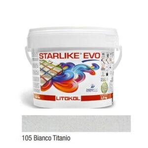 Epoksiid vuugitäide 2,5kg STARLIKE EVO 105 Bianco Titanio