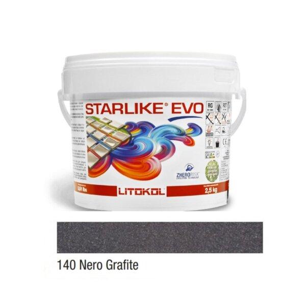 Epoksiid vuugitäide 2,5kg STARLIKE EVO 140 Nero Grafite