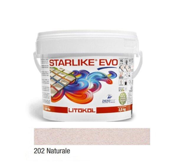 Epoksiid vuugitäide 2,5kg STARLIKE EVO 202 Naturale