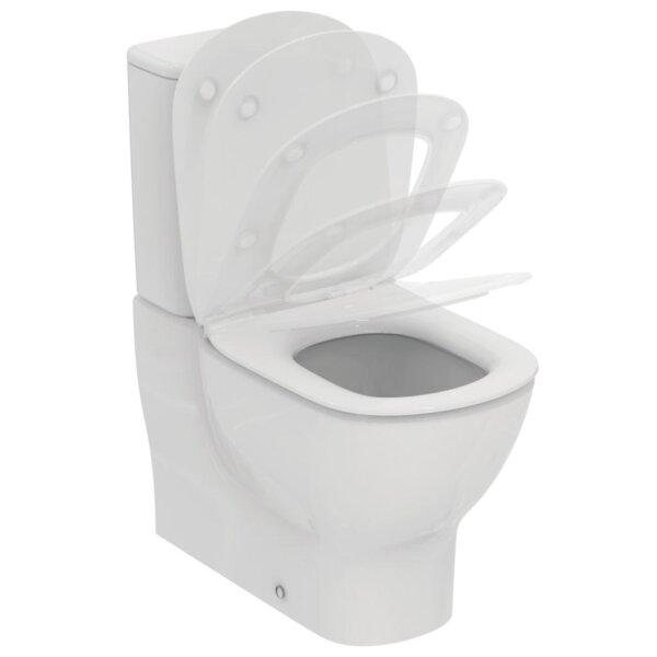 Monoliitne wc pott TESI AQUABLADE® (prill lauaga) Ideal Standard