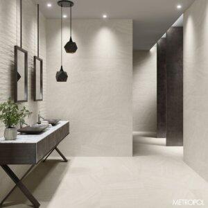 Seinaplaat/põrandaplaat Keraben STONEAGE WHITE
