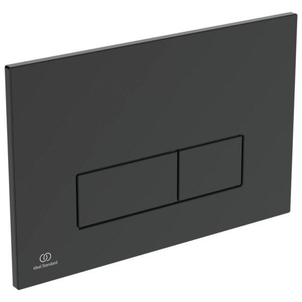 Loputusplaat PROSYS OLEAS M2, must matt, Ideal Standard