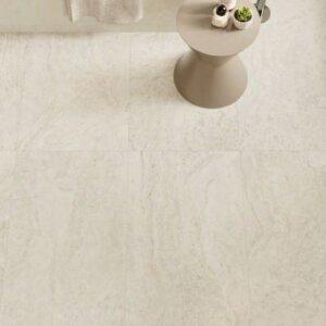 Seinaplaat/põrandaplaat Provenza UNIQUE TRAVERTINE MINIMAL WHITE